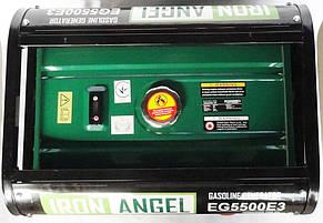 Генератор бензиновый Iron Angel EG 5500 E3 (5,5кВт), фото 3