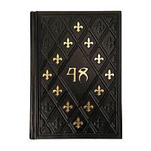 """Книга в шкіряній палітурці """"48 Законів влади"""". Роберт Грін (M0)"""