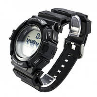 Часы водонепроницаемые спортивные Skmei Black BOX 1116