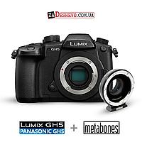 Камера Panasonic GH5 + Переходник Metabones (KIT101), фото 1