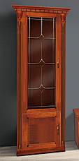 Гостиная  в классическом стиле с витражами Freedom (Фридом) Микс мебель, цвет  орех + патина золото, фото 2