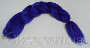 Канекалон 65х130 см. синий