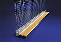 Профиль для примыкания к оконным откосам с сеткой 2,4 м