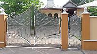 Ворота из нержавейки 04