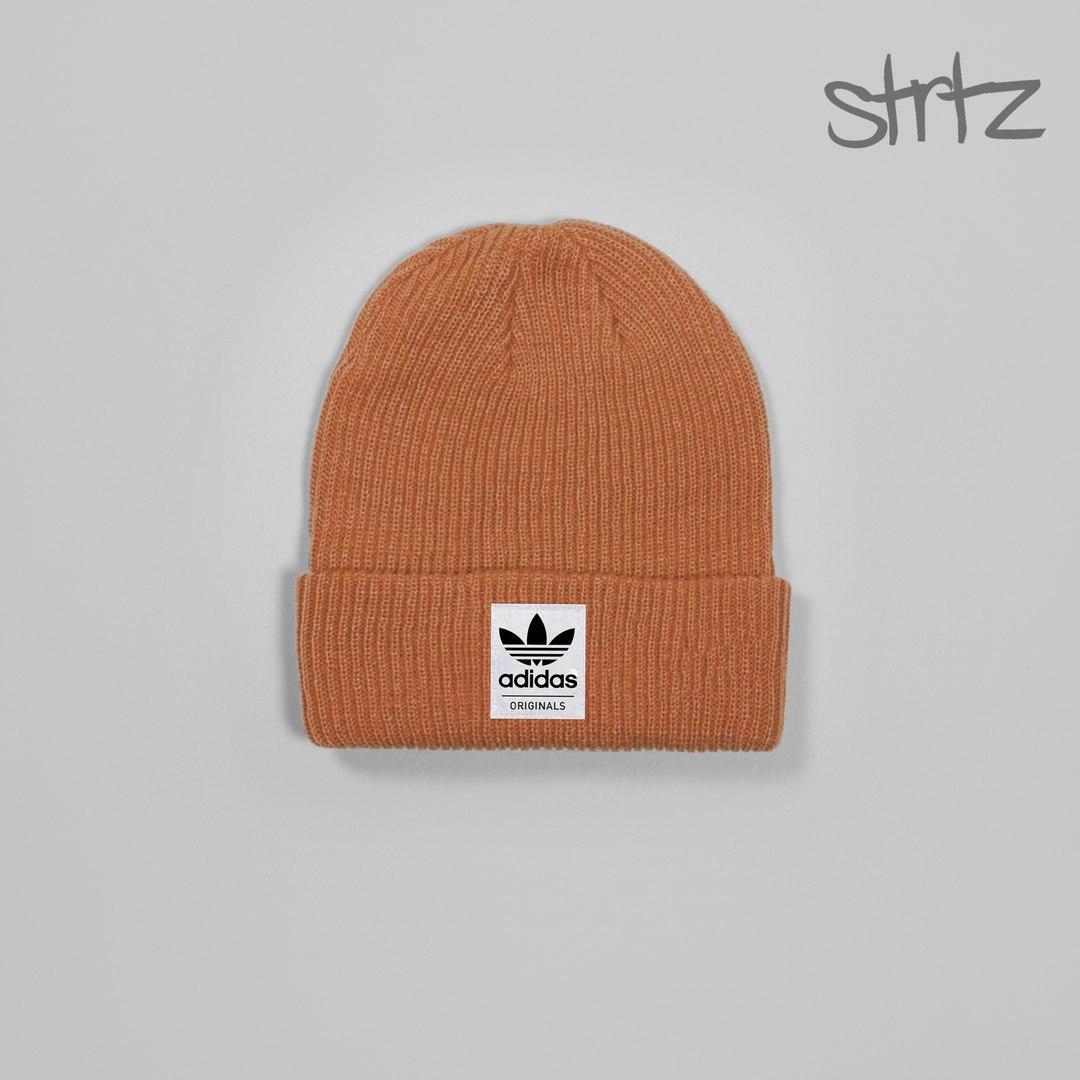 Зимняя мужская шапка адидас, шапка Adidas