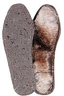 Зимняя стелька меховая кожкартон «Comfort»