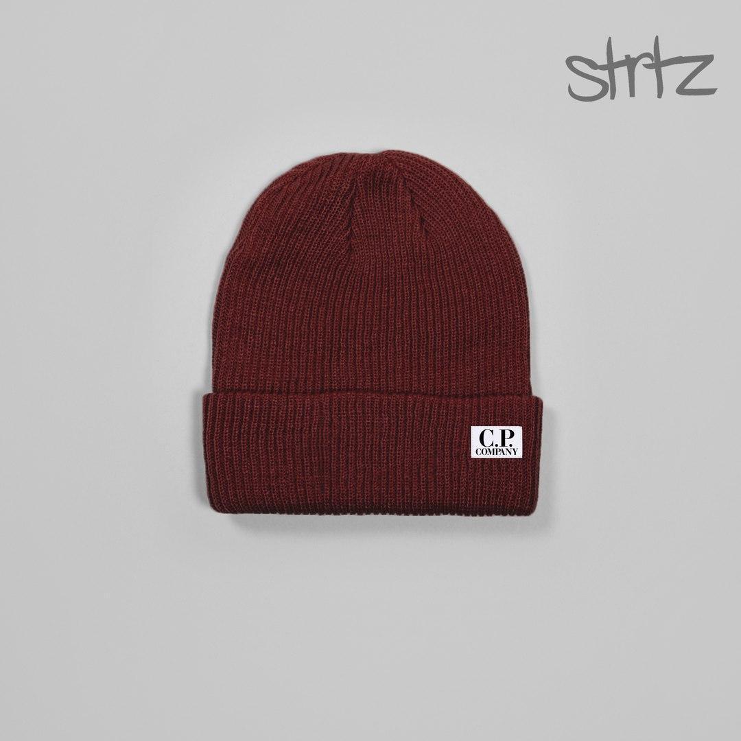 Унікальна чоловіча шапка к. п. компанія, шапка C. P. Company