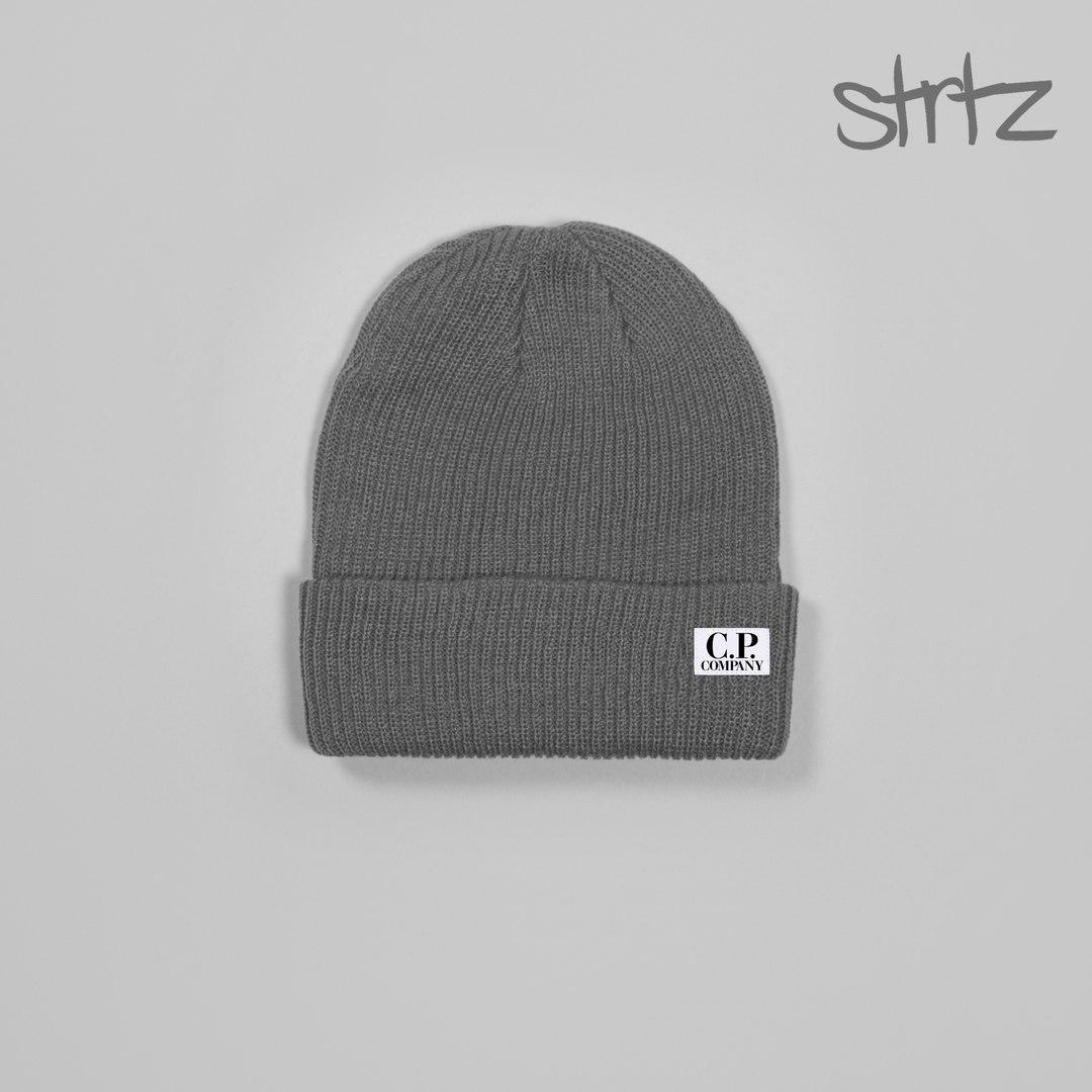 Зимова чоловіча шапка к. п. компанія, шапка C. P. company