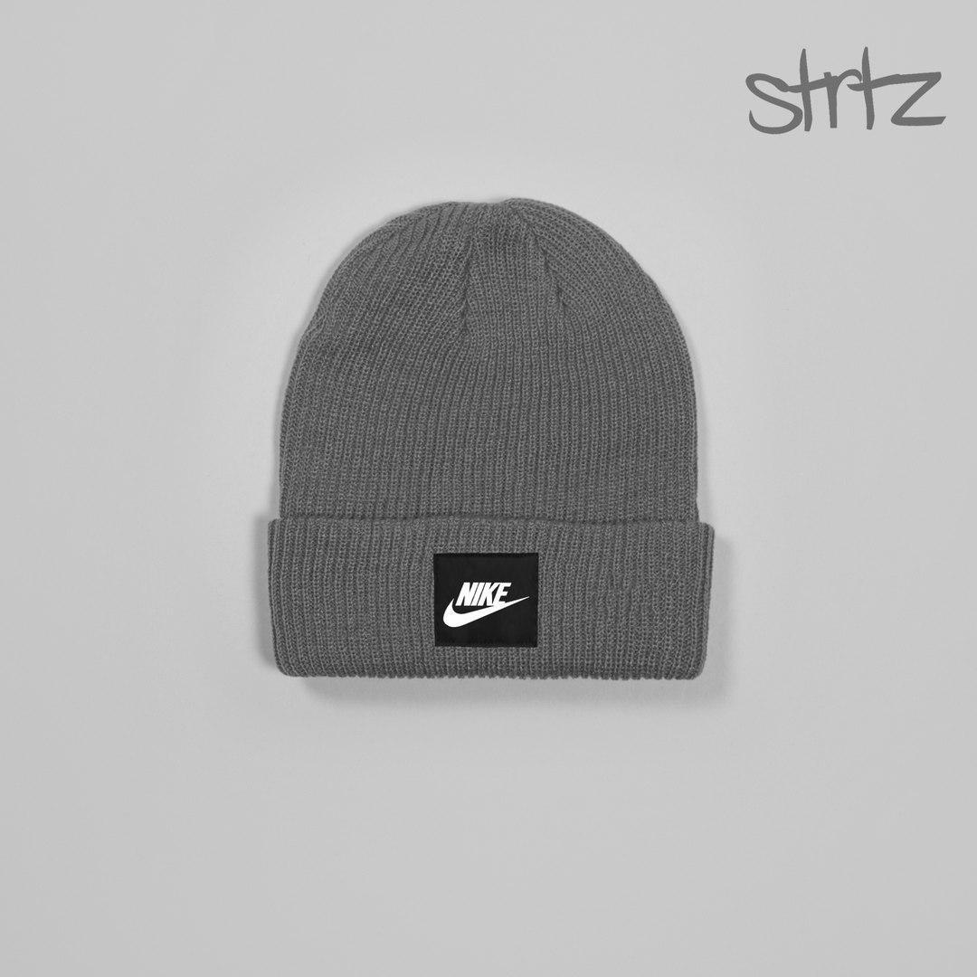Классная мужская шапка найк, шапка Nike