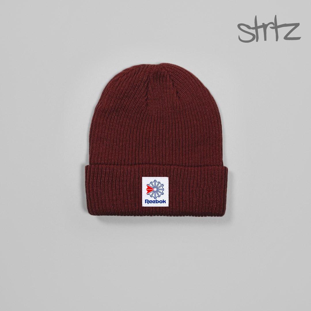 Зимова чоловіча шапка рібок, шапка Reebok