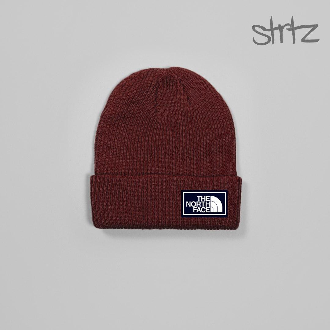 Унікальна чоловіча шапка норт фейс, шапка The North Face