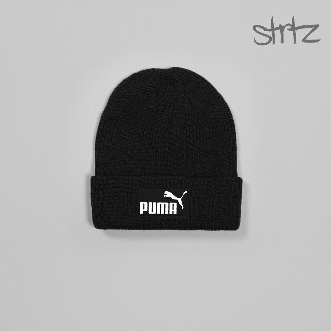 91bacb170357 Молодёжная мужская шапка пума, шапка Puma - Bigl.ua