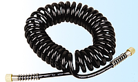 Шланг спиральный для аэрографа 1/8''-1/8'', 3 м, Fengda