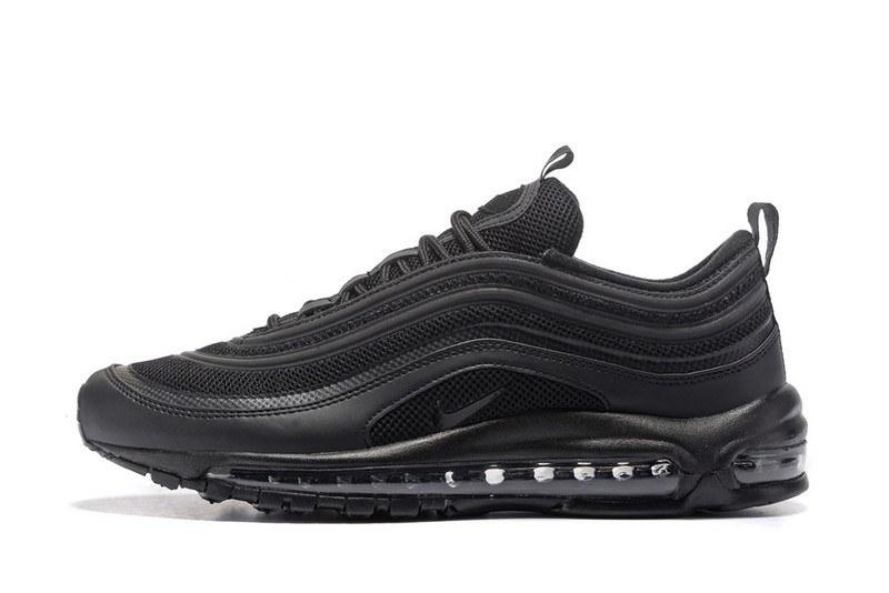 Nike Air Max 97 Triple Black. Зимние кроссовки найк. Стильные ... c60541969584d