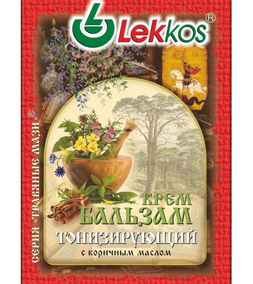 Крем-бальзам ЛЕККОС тонизирующий 10 гр.