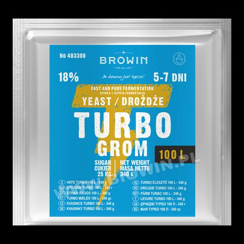Дрожжи Turbo 100L - 340 г