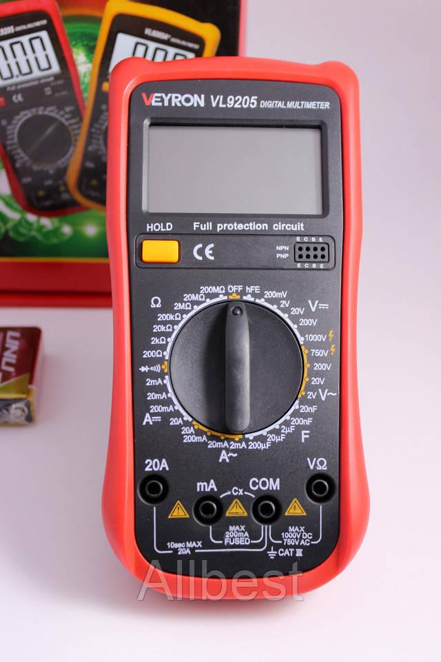 Мультиметр DT-9205D