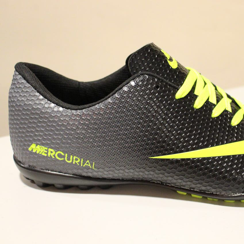 92957d70 Сороконожки бутсы футзалки взрослые Nike Mercurial black - Интернет-магазин