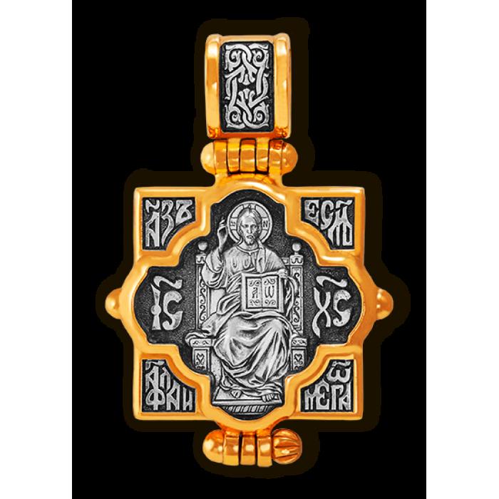 Мощевик.Господь Вседержитель. Икона Божией Матери Всецарица.