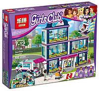 "Конструктор LepinFriends 01039""Клиника Хартлейк-Сити""  (аналог LEGO Friends 41318), 932детали"