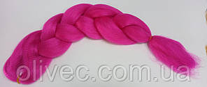 Канекалон 65х130 см. розовый