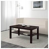 Журнальный столик LACK черно-коричневый 90х55 (401.042.94)