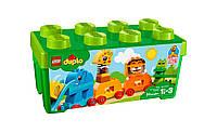 "LEGO Duplo Коробка з кубиками ""Моя перша тварина"" 10863, фото 1"