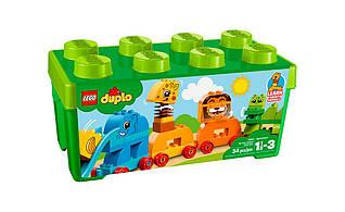 "LEGO Duplo Коробка з кубиками ""Моя перша тварина"" 10863"