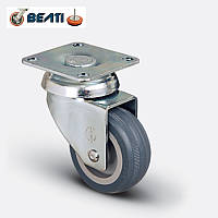 Аппаратные колеса поворотные на термопластичной резине 100мм