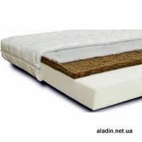 Матрас в детскую кроватку двухслойный (кокос-поролон)
