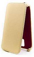 Чехол Status Flip для Sony Xperia M4 Aqua Dual E2312 Beige