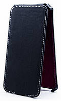 Чехол Status Flip для Sony Xperia M4 Aqua Dual E2312 Black Matte