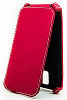 Чехол Status Flip для Sony Xperia M5 Dual E5633 Red