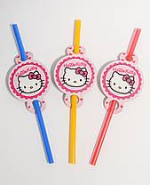 """Трубочки для напитков """"Hello Kitty"""""""