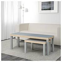 Журнальный столик LACK серый