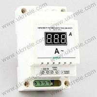 Цифровой амперметр переменного тока на DIN-рейку (300А)
