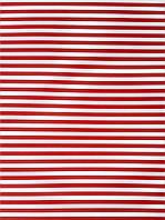 Подарочная бумага (упаковочная)  красного цвета в белую полоску