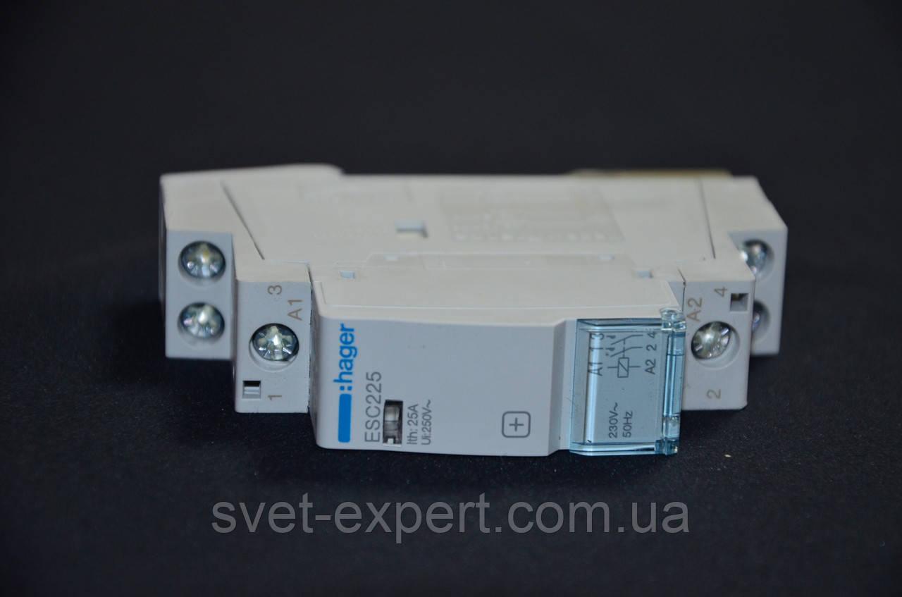 ESC225 Контактор 25A, 2НВ, 230В Хагер