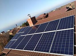 """с. Калаглия Одесской обл., сетевая солнечная электростанция под """"зеленый"""" тариф 30 кВт Fronius"""
