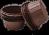 Формы бумажные для кексов с бортиком коричневые, 55*35 мм, 200 шт