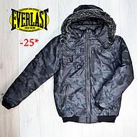 Мужская зимняя куртка Everlast/еверласт/эверласт Оригинал