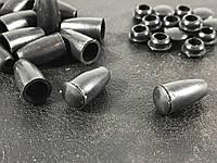 Колокольчик наконечник для шнура 3.5  мм с крышкой