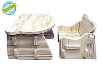 "Детский комплект стол и стул ""Baby desk"" Eva-Line дерево"
