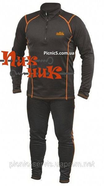 Зимнее термобелье комплект мужское и женское «вторая кожа» Fishing ROI Дайвинг-флис Турция.