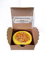 Мыло-мочалка с люфой Облепиха на масле облепихи и грейпфруте 85г, фото 1