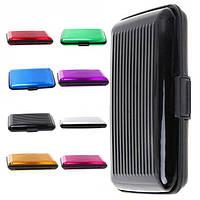 Алюминиевый бумажник - кейс для кредиток, фото 1