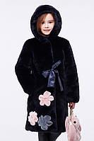Шуба зимняя Кики для девочек размеры 28-32  цвета в ассотрименте