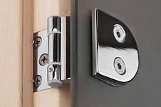 Двери для сауны 80х200 см GREUS CLASSIK (bronze) 3 петли, фото 2