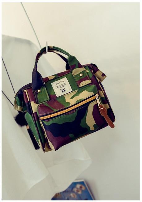 c7e1ec8e8bf6 Женский рюкзак-сумка из ткани цвета хаки , цена 300 грн., купить в ...