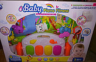 Коврик для младенца BM6016-1 музыкальный с пианино